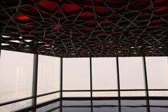 未来派地方在迪拜 库存图片