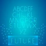 未来类型 图库摄影