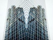 未来派大厦 免版税库存照片