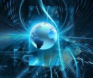 未来派技术 向量例证