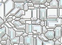 未来派抽象背景。数字式光滑的纹理 免版税库存照片