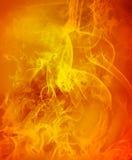 未来派抽象背景概念的火完善 免版税库存图片