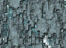 未来派抽象背景 数字式光滑的纹理 库存照片