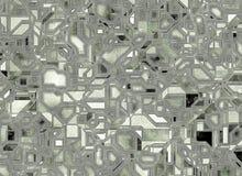 未来派抽象背景 数字式光滑的纹理 图库摄影