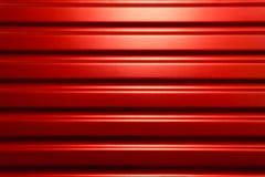未来派红色金属纹理 免版税库存照片