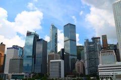 未来派都市风景 免版税库存照片