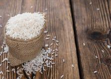 未煮过的米 免版税库存图片