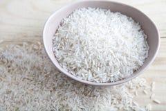 未煮过的米 免版税图库摄影