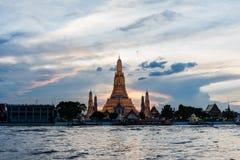 未看见的泰国,晓寺, 免版税图库摄影