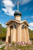 未知的修士的教堂 库存照片