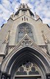 未知的教会在Triest 库存图片