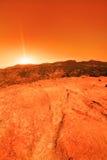 未知的行星 库存照片