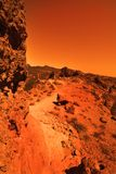 未知的行星 图库摄影