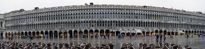 未认出的人参观圣Marco广场我 免版税库存图片