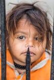 未认出的印地安女孩 库存图片