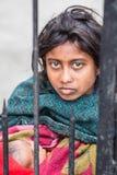 未认出的印地安妇女 库存图片