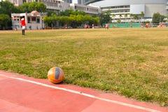 未认出的马来的足球运动员 库存照片