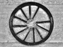 未连接的轮子 免版税库存图片
