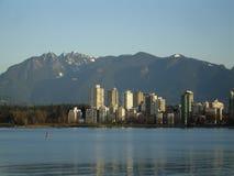 末端s西方的温哥华 免版税图库摄影