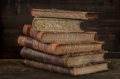 2本古色古香的书 库存照片