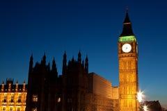 本大伦敦晚上射击 图库摄影