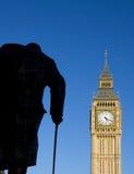 本大伦敦议会威斯敏斯特 图库摄影