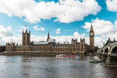本大伦敦议会 伦敦,英国 免版税图库摄影