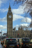 本大时钟伦敦塔 免版税图库摄影