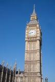 本大时钟房子议会 库存图片