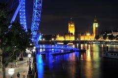 本大眼睛伦敦晚上 免版税图库摄影