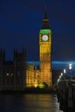 本大英国伦敦黄昏英国 免版税库存照片