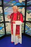 本尼迪克特女士博物馆s教皇tussaud xvi 免版税图库摄影