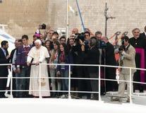 本尼迪克特教皇xvi 库存照片