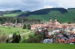 本尼迪克特的修道院圣皮特圣徒・彼得德国 免版税图库摄影