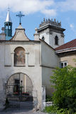 本尼迪克特的修道院在利沃夫州,乌克兰 免版税库存图片