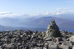 本尼维斯山,苏格兰 库存照片