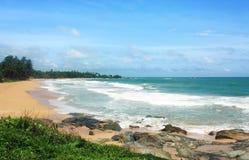 本托特海滩,斯里兰卡 免版税库存照片