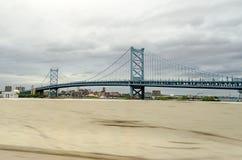 本杰明・富兰克林桥梁, 免版税库存图片