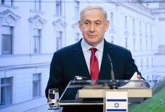 本杰明Netanjahu 库存图片