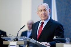 本杰明Netanjahu 免版税图库摄影