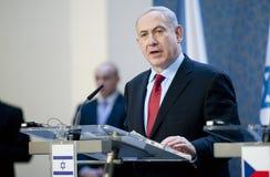 本杰明Netanjahu 免版税库存照片