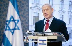 本杰明Netanjahu 免版税库存图片