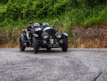 本特利4,5公升超了负荷1930年 免版税图库摄影