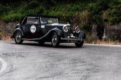 本特利3,5公升1935年 免版税库存照片