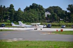 本田机场 库存图片