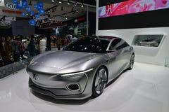 本田设计C001概念汽车 免版税图库摄影