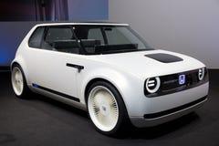 本田都市EV概念汽车 库存照片