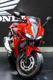 本田CBR500R摩托车 图库摄影