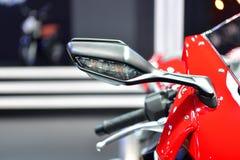 本田CBR1000RR摩托车在曼谷国际泰国Mot 免版税库存照片