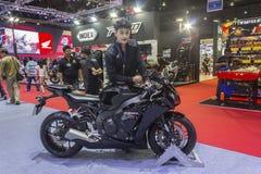 本田CBR1000RR摩托车 免版税库存图片